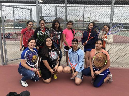 2019-2020 Tennis Team