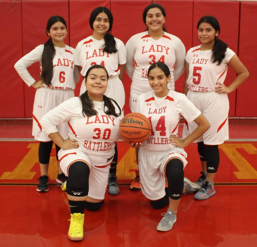 8th Grade Girls Basketball B Team