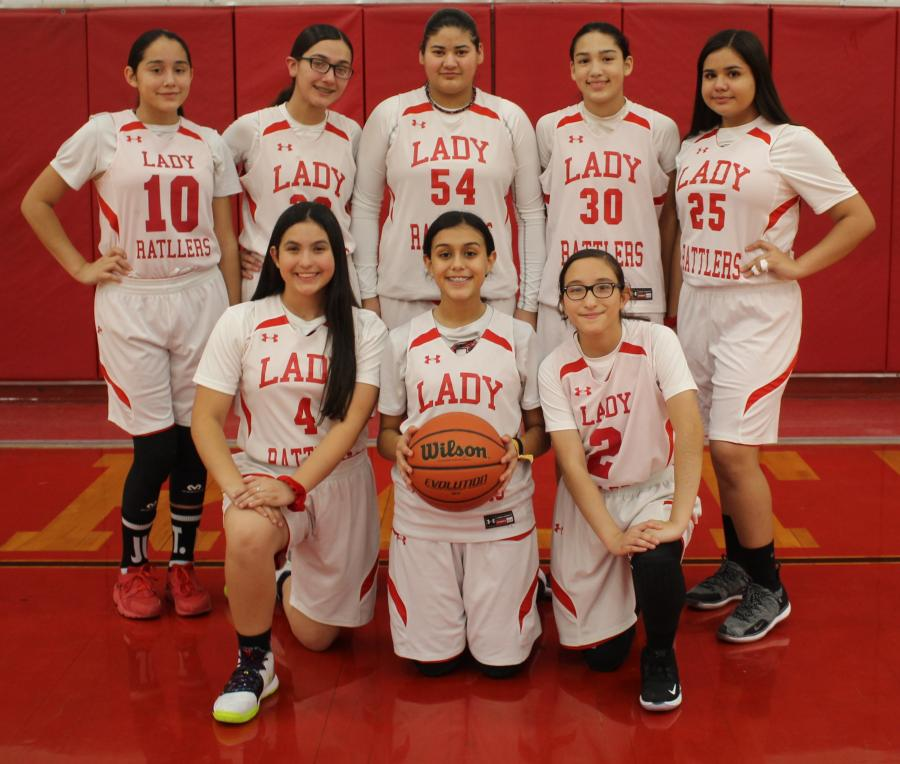 8th Grade Girls Basketball A Team