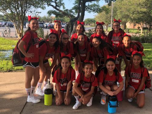 RMS Cheerleaders