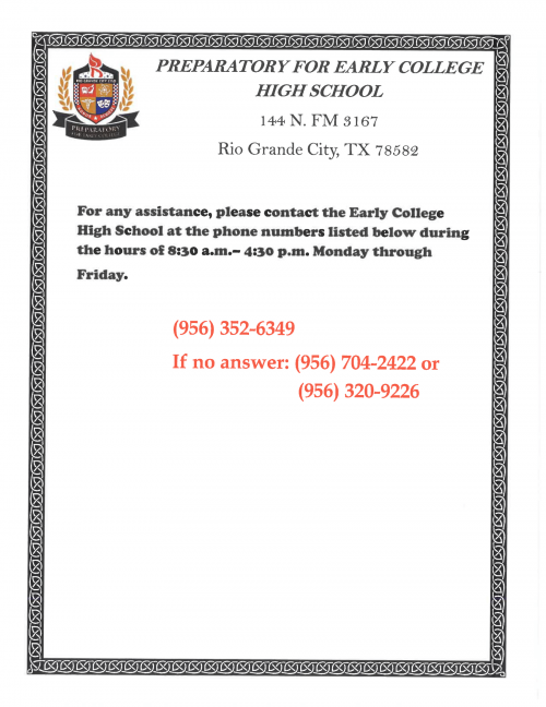 ECHS Contact Information