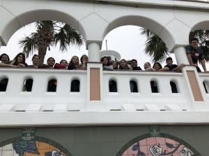 At Selena Memorial