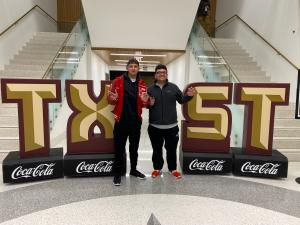 Ismael Salinas & Juan Avila Jr. at Texas State University