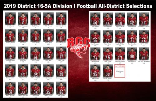 RGCHS Rattler All District Photo