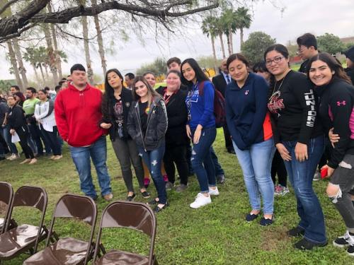 Migrant Club Attending Historical Marker unveiling @ STC Starr County