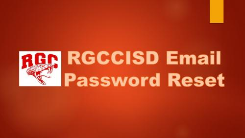 RGCCISD Email Password Reset