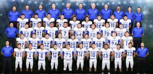 2017-18 Grulla High School Football Team