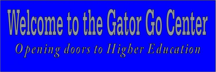 Welcome to the Gator Go Center