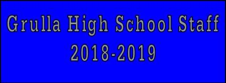 Grulla High School Staff 2018-2019