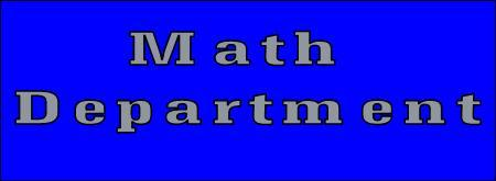 Math Department