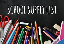 2020 - 21 AHS Supply List