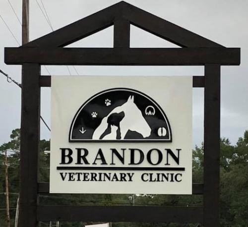 Vet clinic sign