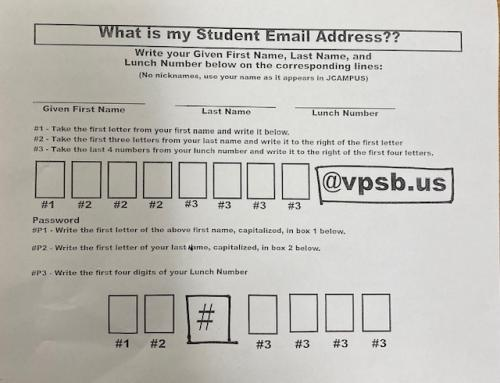 student email info