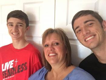 Carrie, Jacob and Jackson