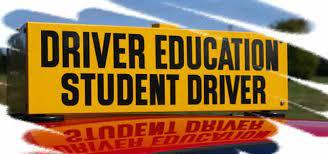 Attention Driver's Ed Information