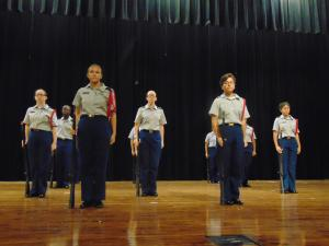 Veterans Day Assembly- Armed Performance