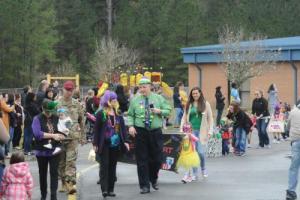 Beginning of Mardi Gras parade