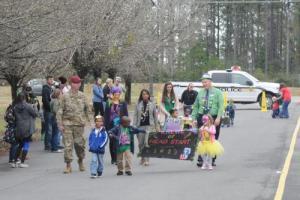 Dignitaries leading the parade