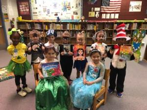 Kindergarten Costume Contestants