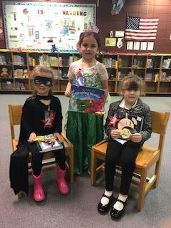 Kindergarten Costume Winners