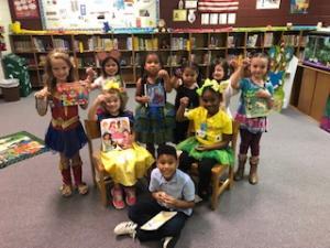 Kindergarten Story Retell Contestants