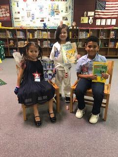Kindergarten Story Retell Winners