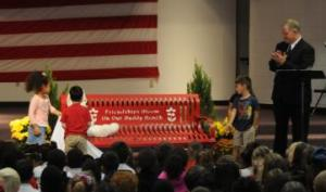 Buddy Bench Unveiled