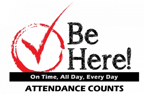 Be here attendance counts