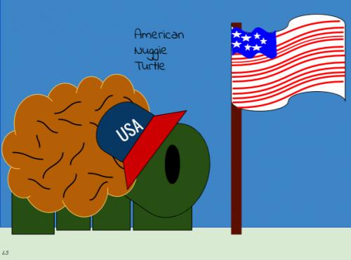 American Nuggie Turtle