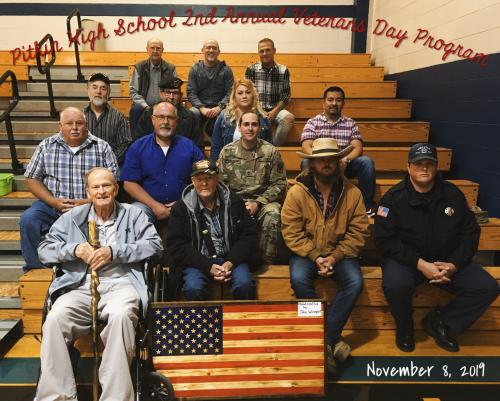 2nd Annual Veterans Day Program - 2019