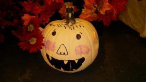 Storybook Pumpkin for Thanksgiving