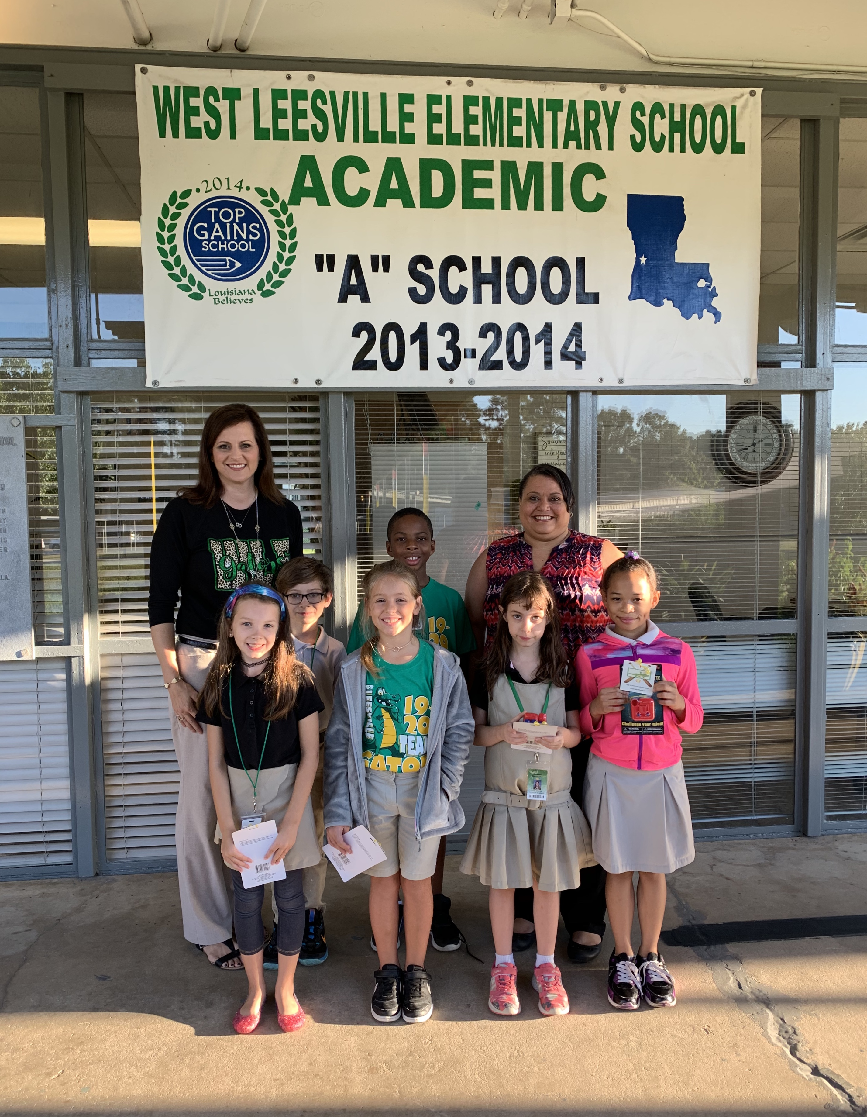 3rd Grade Outstanding Students of the 1st Six Weeks