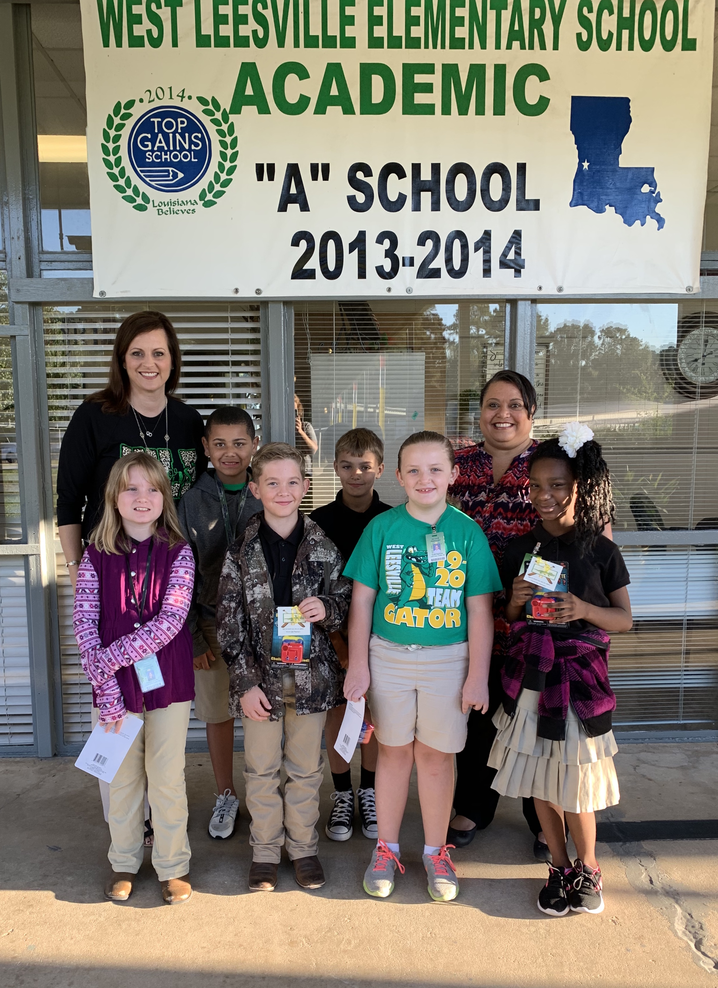 4th Grade Outstanding Students of the 1st. Six Weeks