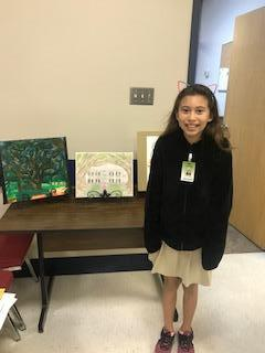 Ema won the Art Contest