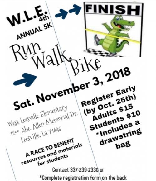 Gator Walk/Run/Ride Flyer