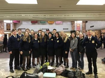 Holliday FFA Leadership Teams Advance to Area