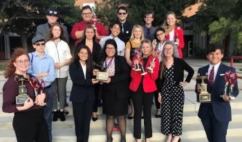 Thumbnail Image for Article HHS Speech Team Does Well at Tascosa