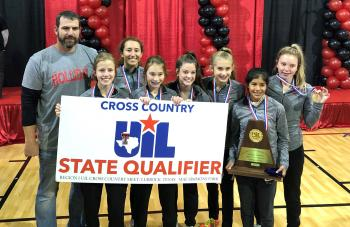 Lady Eagle Cross Country wins Regional