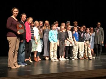 Holliday Middle School One Act Play Wins 1st