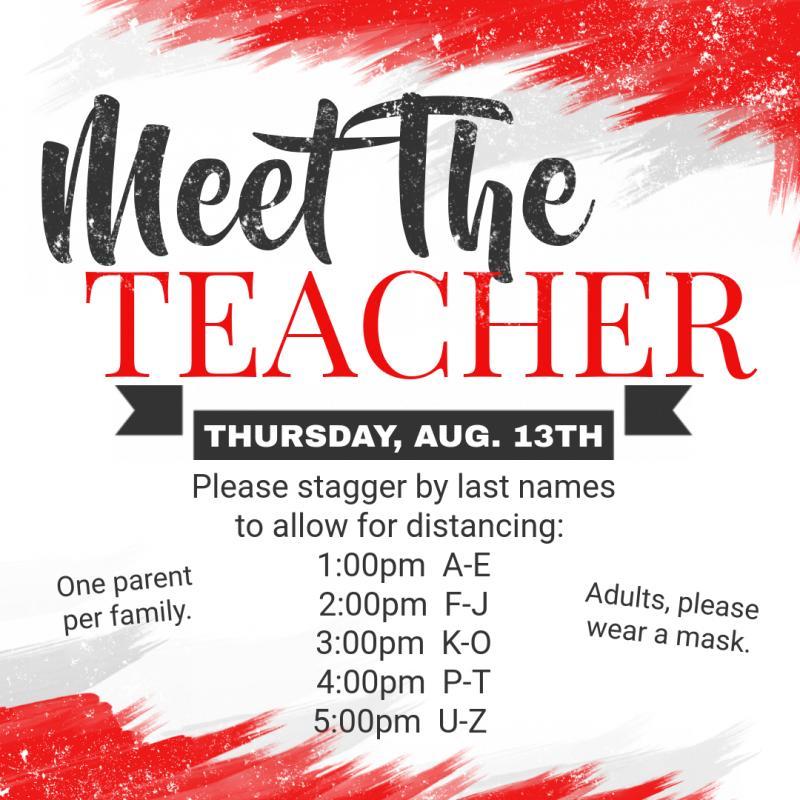 MEET THE TEACHER @ HMS