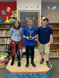 2020 Holliday Elementary Spelling Bee