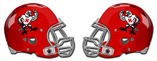 Holliday football helmets