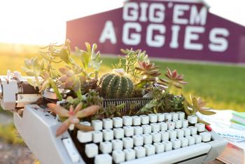 Aggie Ring and Cactus