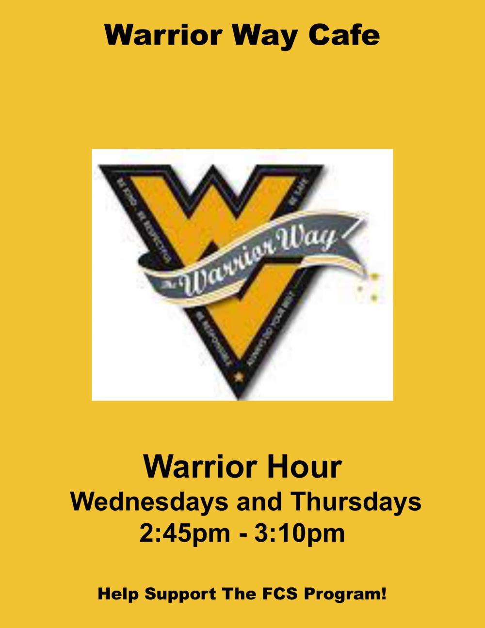 Warrior Way Cafe