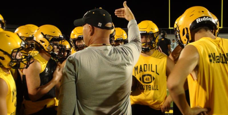 Football Finds Way Back to Gridiron with Madill Midnight Madness Practice Monday