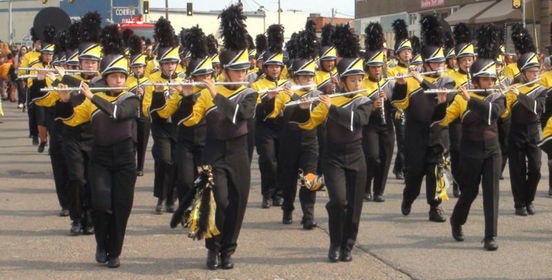 Band Bound for State for Superior Rating Wednesday at District Contest