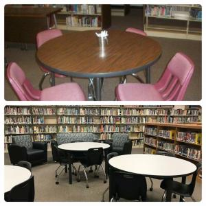Library Transformation Summer of 2018: Before and After