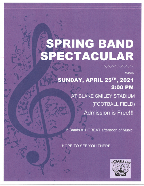 Spring Band Spectacular