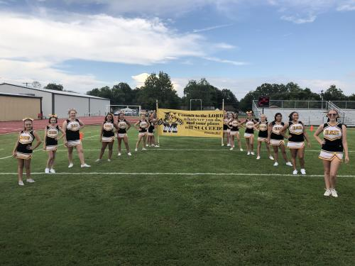 Madill Middle School Cheerleaders