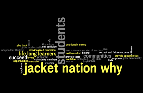 #jacketnation why